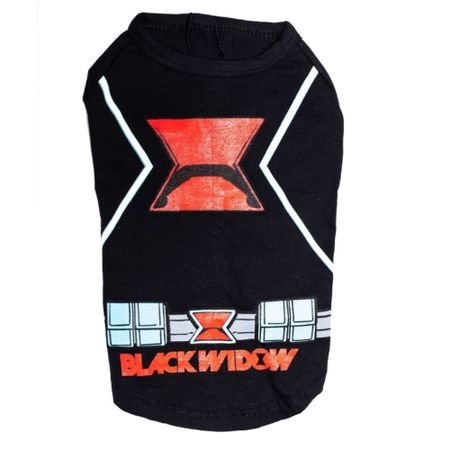 Camiseta Pet Viuva Negra P