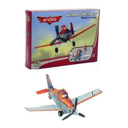 Quebra-Cabeça 3D Carros/Aviões Disney  - Dusty