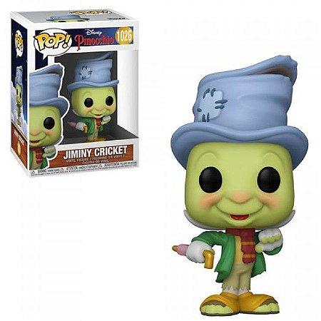 Boneco Funko Pop Disney Pinocchio Jiminy Cricket 1026