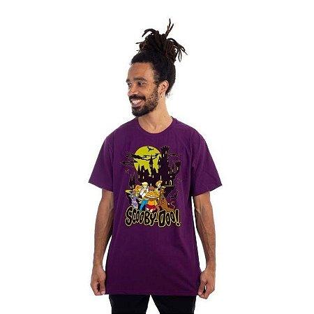 Camiseta Turma Scooby Doo Roxa - Piticas G