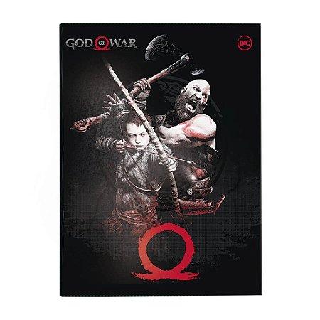 Pasta Catálogo Ofício com Lombo Ajustável God of War + 10 Envelopes – 3231