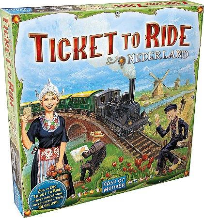Ticket to Ride: Holanda - Expansão