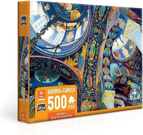 Arte Sacra Igreja São Jorge Sérvia, Oplenac Quebra-cabeça 500 peças