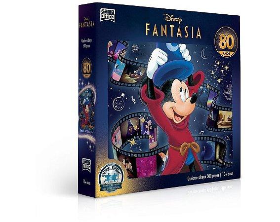 Disney Fantasia – 80 anos – Quebra-cabeça – 500 peças