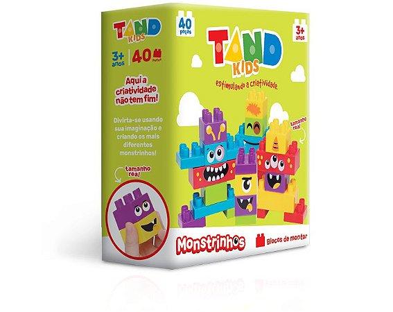 Tand Kids – Monstrinhos 40 peças