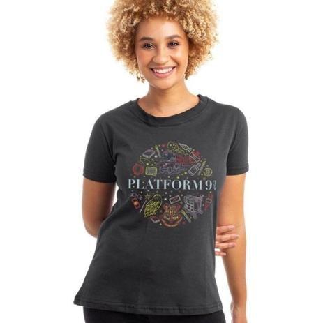 Camiseta Harry Potter Plataforma 9 3/4 - Piticas - BLM