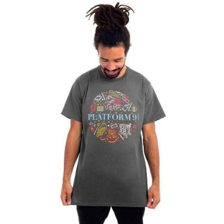 Camiseta Harry Potter Plataforma 9 3/4 - Piticas - P