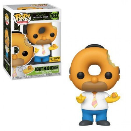 Funko The Simpsons Donut Head Homer Special Edition  1033