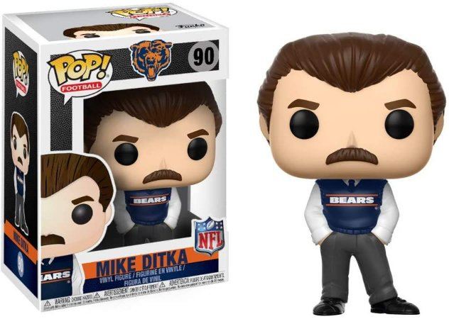 Funko Pop Mike Ditka 90 Bears NFL