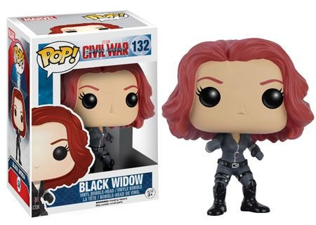 Funko - Civil War - Black Widow