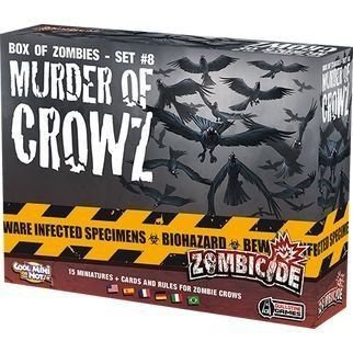 MURDER OF CROWZ - EXPANSAO ZOMBICIDE