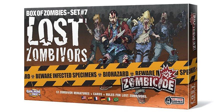 LOST ZOMBIVORS - EXPANSAO ZOMBICIDE