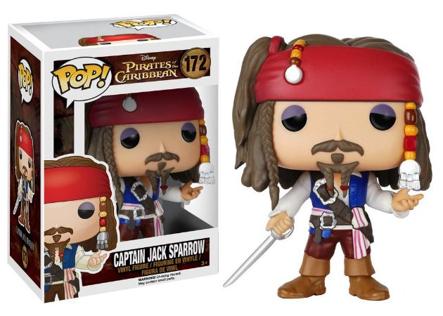 Funko - Pirates of the Caribbean- Captain Jack Sparrow