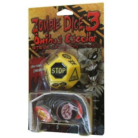 Zombie Dice 3 - Onibus Escolar - Expansão