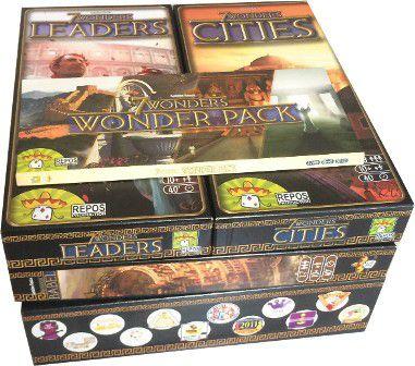 Organizador para 7 Wonders