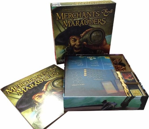 Organizador para Merchants & Marauders