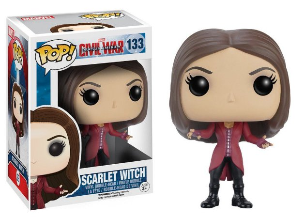 Funko - Marvel - Civil War - Scarlet Witch