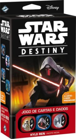 Star Wars Destiny - Pacote Inicial - Kylo Ren