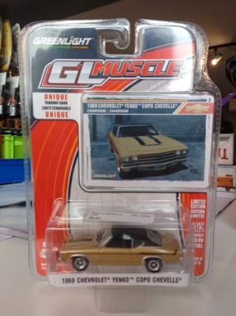 Muscle Series 14 1/64 - 1969 |Chevrolet Yenko Copo Chevelle