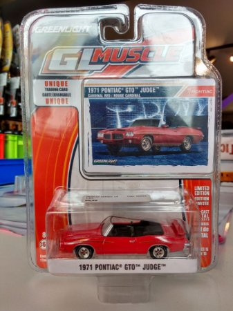 Muscle Series 14 1/64 - 1971 Pontiac GTO Judge