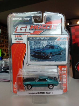 Muscle Series 14 1/64 - 1969 Ford Mustang Mach 1