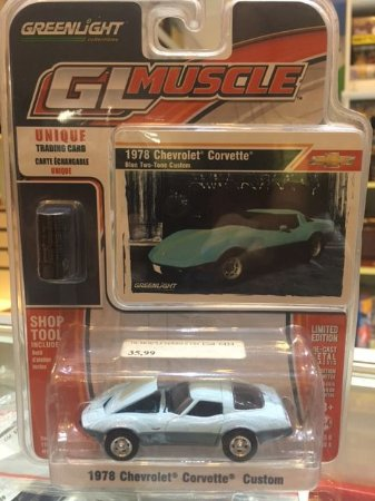 GL Muscle Series 6 1/64 - 1978 Chevrolet Corvette Custom