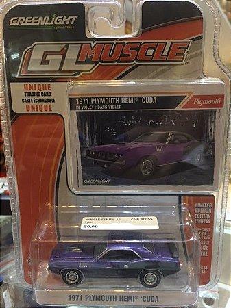 Muscle Series 15 1/64 - 1971 Plymouth Hemi Cuda