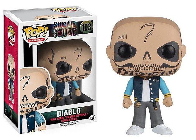 Suicide Squad El Diablo - POP Vinyl