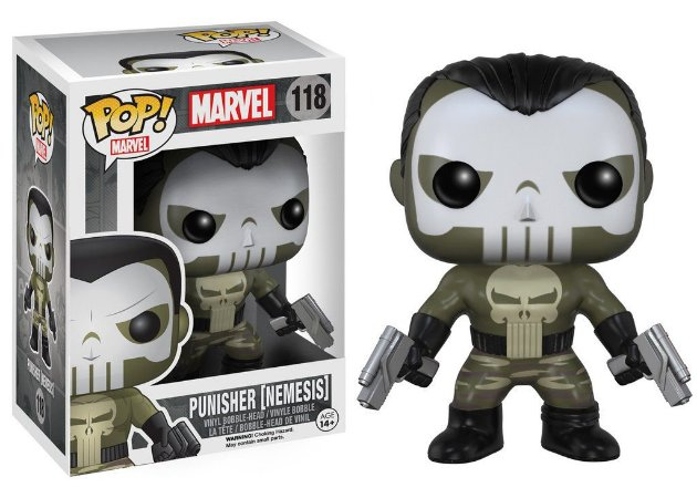 BONECO POP VINYL - PUNISHER NEMESIS