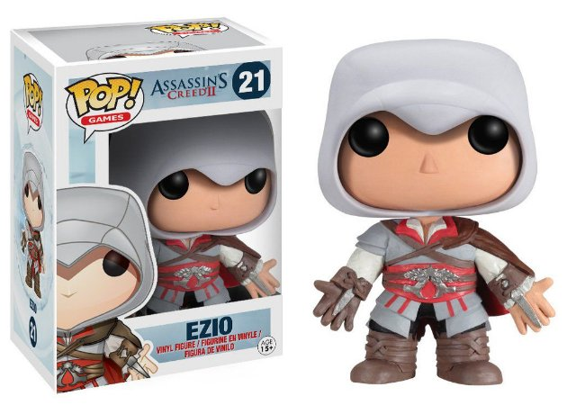 BONECO POP VINYL - EZIO (ASSASSINS CREED)