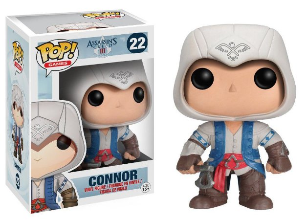 BONECO POP VINYL - CONNOR (ASSASSINS CREED)