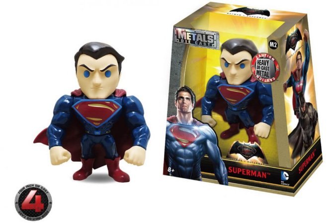 "METALS FIGURE 4"" DC SUPERMAN VS BATMAN MOVIE- SUPERMAN"
