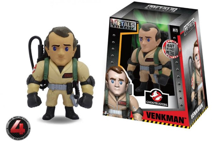 "METALS FIGURE 4"" GHOSTBUSTERS-VENKMAN"