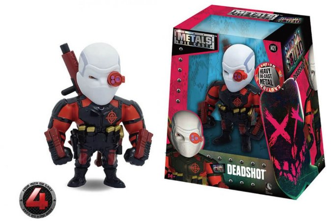 "METALS FIGURE 4"" SUICIDE SQUAD MOVIE-DEADSHOT"