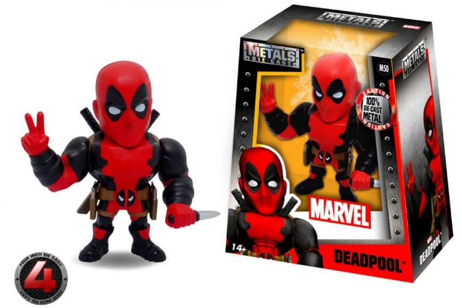 "METALS FIGURE 4"" MARVEL DEADPOOL"