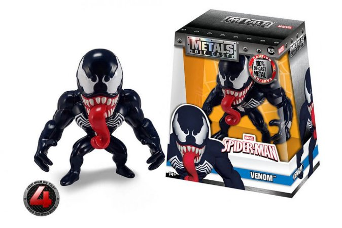 "4"" SPIDERMAN- VENOM"