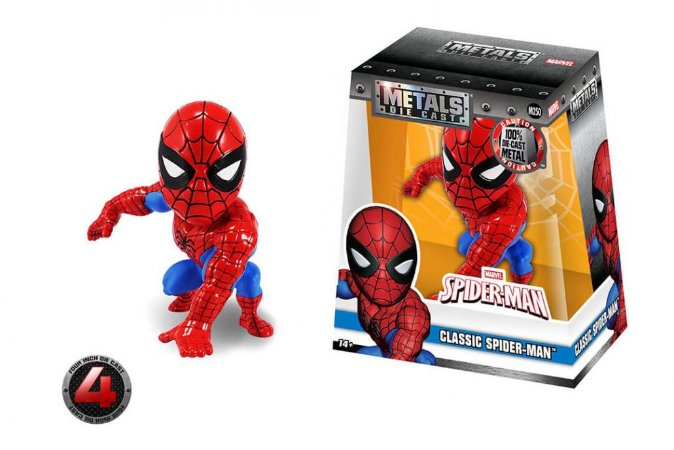 "4"" SPIDERMAN- CLASSIC SPIDER-MAN"