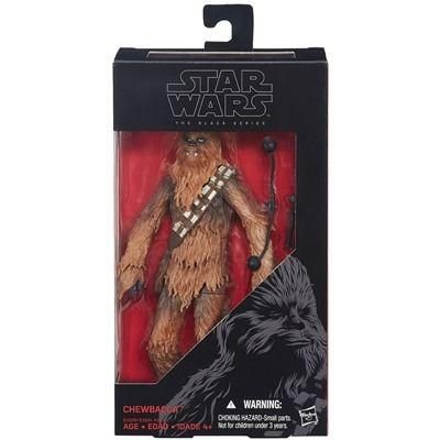SW E7 BLACK SERIES 6 INCH FIG AST/B3834-CHEWBACCA