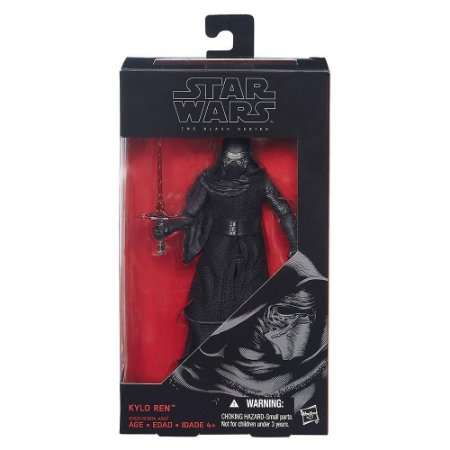 SW E7 BLACK SERIES 6 INCH FIG AST/B3834-KYLO REN