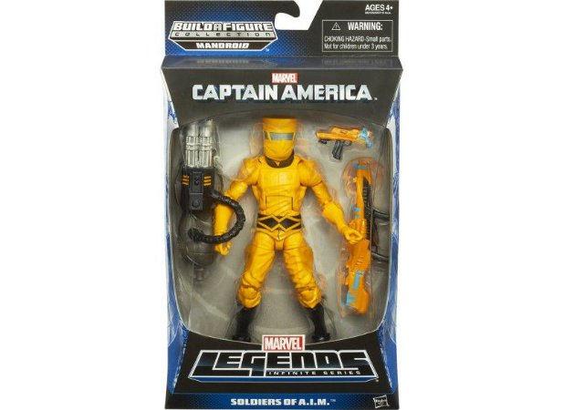 FIG CAPITAO AMERICA 6 LEGENDS/ A6218- Soldiers Of A.I.M