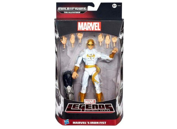 BONECO INFINITE ABERGERS 6 SORT / B0438- Marvel's Iron Fist
