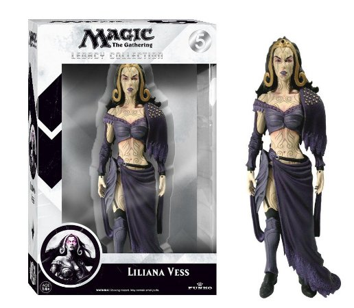 Magic The Gathering Lilliana Legacy Action Figure -
