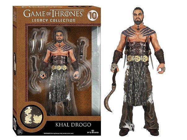 Got Khal Drogo Legacy Action Figure -