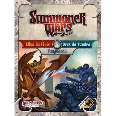 Elfos da Fenix Vs Orcs da Tundra Vs Vanguarda - Expansao, Summoner Wars