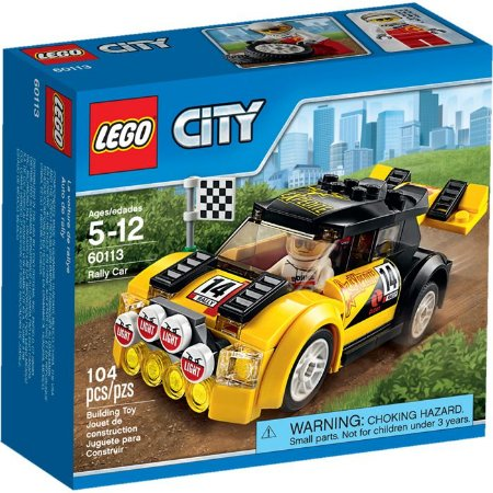 LEGO CITY- CARRO DE RALLY