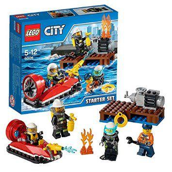 LEGO CITY - CONJUNTO INICIACAO PARA COMBATE AO FOGO