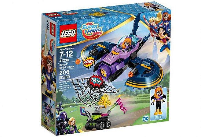 Lego DC Super Hero Girls - A Perseguicao em Batjet de Batgirl