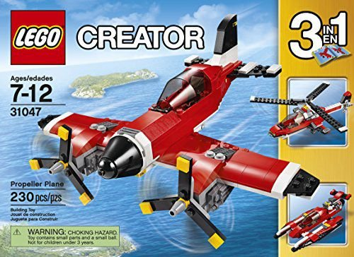 LEGO CREATOR - AVIAO A HELICE