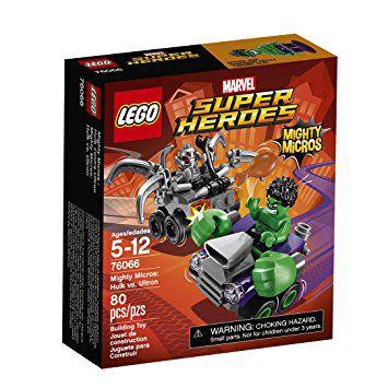 Lego Marvel Super Herdes -  PODEROSOS MICROS: HULK CONTRA ULTRON 76066