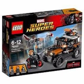 Lego Marvel Super Herdes - Assalto de Risco do Ossos Cruzados 76050